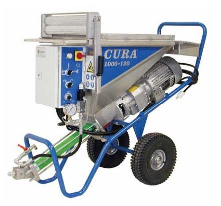 Afbeelding van Airless - CURA CURA 1000-120 airless wormpomp
