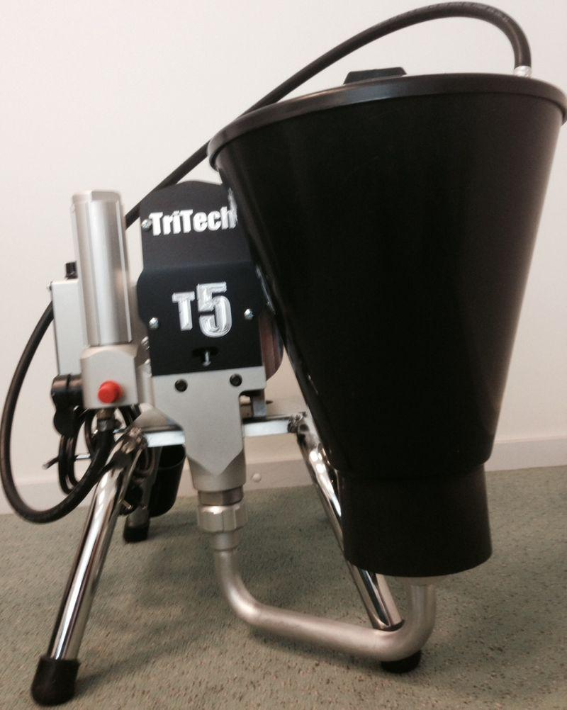 Afbeelding van Air Assisted Airless (luchtondersteund) TRITECH INDUSTRIES