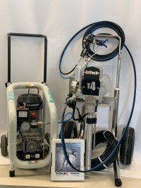 Afbeelding van TRITECH T4 Hi-Cart DUO Air Assist set incl Gentilin CS 240 compressor