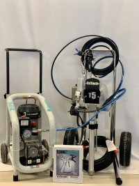 afbeelding TRITECH T5 Hi-Cart DUO Air Assist set incl Gentilin CS 240 compressor